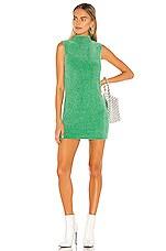 Lovers + Friends Alana Sweater Dress in Clover Green