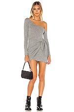 Lovers + Friends Makayla Mini Dress in Heather Grey