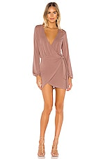 Lovers + Friends Emmy Dress in Mauve