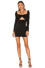 Lovers + Friends Hopper Mini Dress in Black