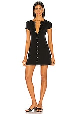 Lovers + Friends Leroy Mini Dress in Black