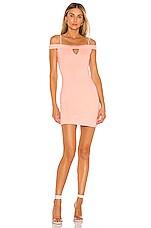 Lovers + Friends Arma Mini Dress in Blush Pink