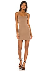 Lovers + Friends Jamison Mini Dress in Taupe