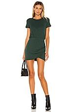 Lovers + Friends Jenner Mini Dress in Forest Green