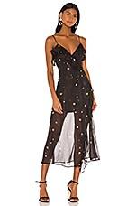 Lovers + Friends Sutton Midi Dress in Star Bright