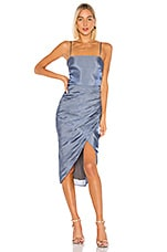 Lovers + Friends Nolita Midi Dress in Slate Blue