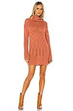 Lovers + Friends Gavin Sweater Dress in Coral