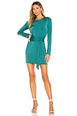 Lovers + Friends Hallie Mini Dress in Everglade Green