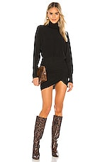 Lovers + Friends Kiana Sweater Dress in Black