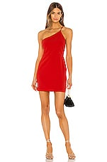 Lovers + Friends Omyra Mini Dress in Red