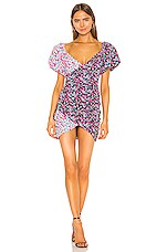 Lovers + Friends Meyer Mini Dress in Mixed Floral
