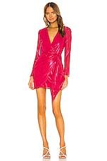Lovers + Friends Brigid Mini Dress in Magenta Pink