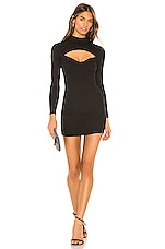 Lovers + Friends Harlie Mini Dress in Black