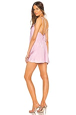 Lovers + Friends Wilton Mini Dress in Lilac Purple