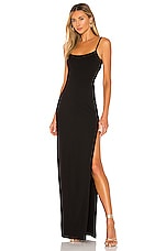 Lovers + Friends Karma Maxi Dress in Black