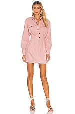 Lovers + Friends Tibby Mini Dress in Rose Pink