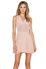 April Dress in Polka Dot
