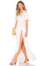 Lovers + Friends x REVOLVE The Florence Dress in Champagne