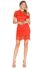 Lovers + Friends Mon Amour Dress in Red