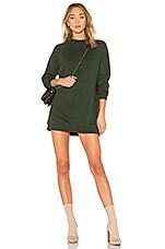 Lovers + Friends Jenn Sweatshirt Dress in Jade
