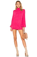 Lovers + Friends Blaine Sweater Dress in Pink