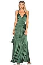 Lovers + Friends Coralie Dress in Emerald
