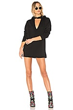 Lovers + Friends x REVOLVE Cate Sweatshirt Dress in Black