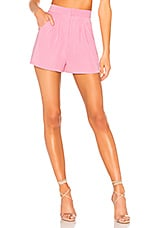 Lovers + Friends Kind Of Love Short in Baby Pink