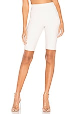 Lovers + Friends Nova Biker Shorts in White