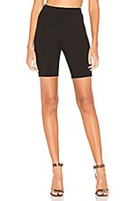 Lovers + Friends Von Biker Shorts in Black