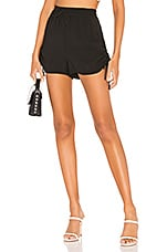 Lovers + Friends Charade Shorts in Black