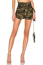 Lovers + Friends Delphine Shorts in Camo