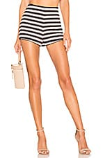 Lovers + Friends Anja Shorts in Navy & White Stripe
