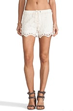 Adore Short in Natural Lace