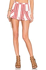 Lovers + Friends x REVOLVE Oasis Skort in Red Stripe