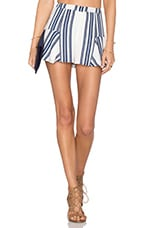 Oasis Skort in Navy Stripe
