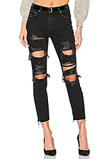 Lovers + Friends Logan High-Rise Tapered Jean in Mckinley