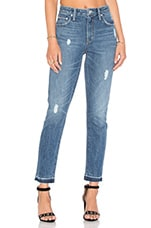 Logan High-Rise Tapered Jean in Las Palmas