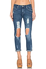 Ezra Distressed Jean in Lexington