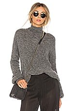 Lovers + Friends Independent Sweater in Steal Gray