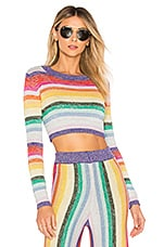 Lovers + Friends Believe Sweater in Multi Color