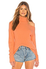 Lovers + Friends Del Mar Sweater in Coral