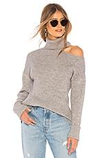 Lovers + Friends Del Mar Sweater in Heather Grey