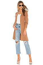 Lovers + Friends Del Mar Duster in Camel