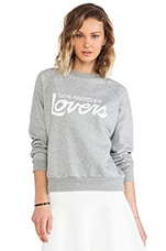 Laidback Pullover in Heather Grey