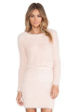 Dolly Sweater in Powder Pink