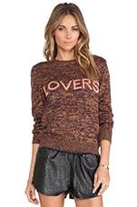 Lover Pullover in Scarlet