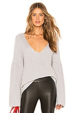 Lovers + Friends Addison Sweater in Grey