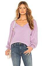 Lovers + Friends Regina Sweater in Pink Lavender