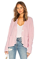 Lovers + Friends Avery Cardigan in Pink